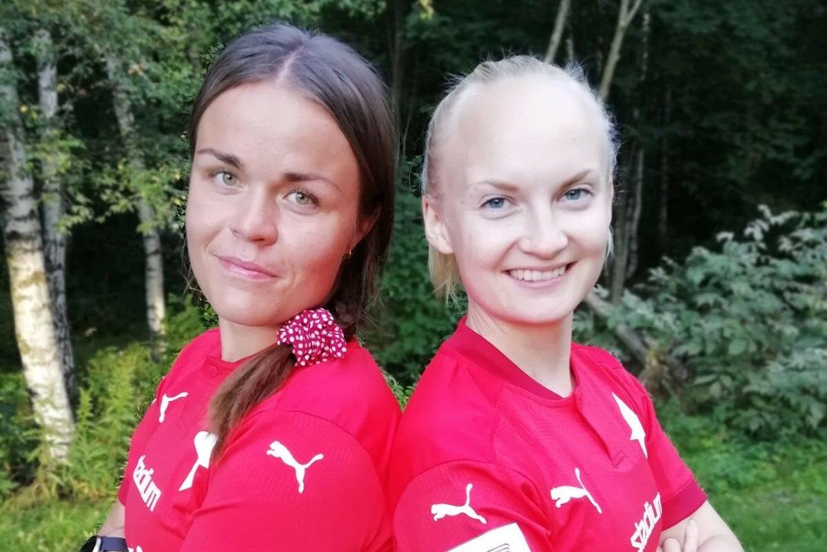 Tuula Sirén ja Ilona Mikkelä GFT:stä HIFK:hon