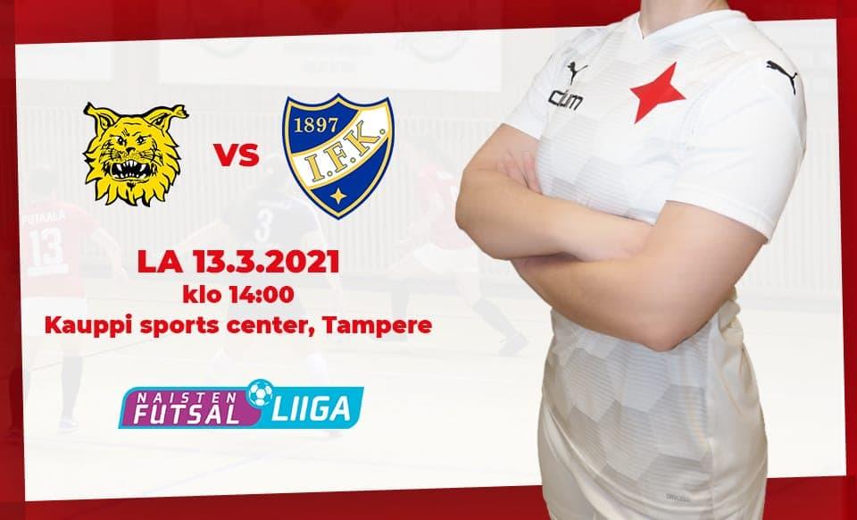 HIFK ja Ilves kohtaavat huippuottelussa lauantaina